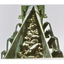 Kohlebergbau Rohrförderband