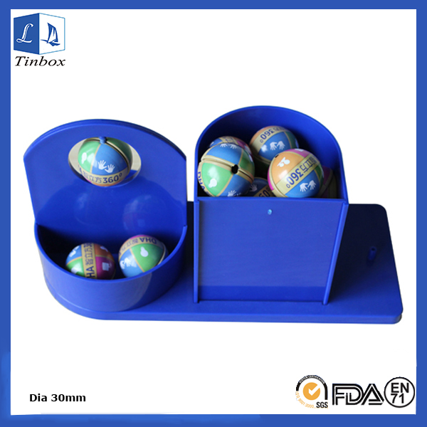 Small Egg Shape Tin Box Containers