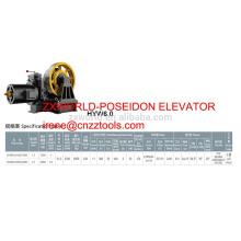 traction machine XIZI forvorda HYW6.0 freight elevator