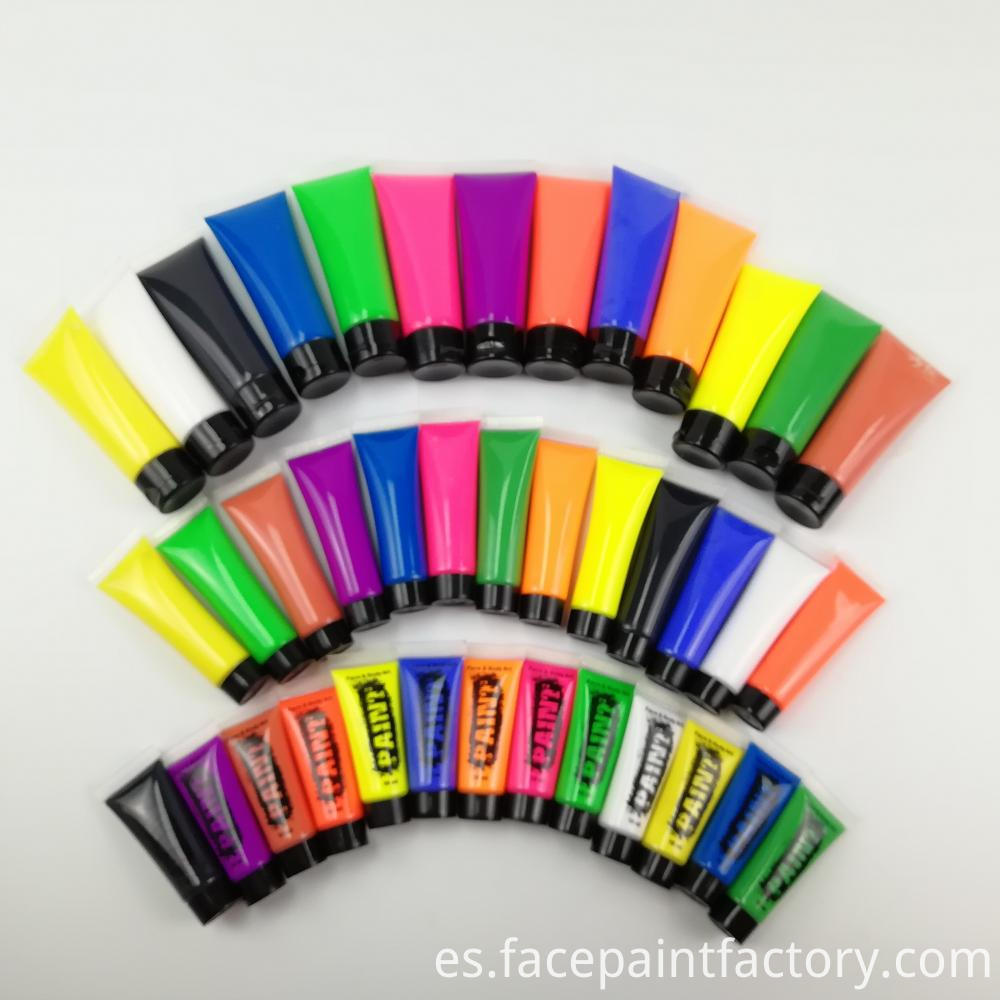 Private Label UV Neon Face Paint