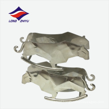 Stainless steel animal shape business name card holder