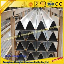 Tuyau en aluminium d'approvisionnement d'usine avec la taille Custimized pour l'utilisation de Funrance