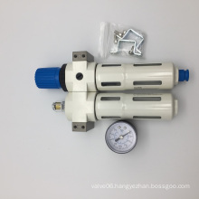 Air Filter Pressure Regulator Air Source Treatment Unit