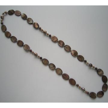 Мода большой жемчужное ожерелье, костюм ювелирные изделия перлы