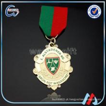 Faça a etiqueta da medalha do metal botons