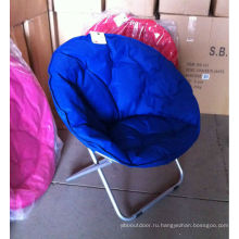 Round seat folding chair
