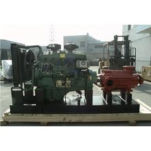 Utilisée pour la transformation de miel huile pompe à diaphragme pilotée par moteur électrique ou moteur Diesel