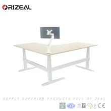 Höhenverstellbarer ergonomischer Schreibtisch 120V 240V Wechselstroms neuer Entwurf justierbarer mit Geschwindigkeit 40mm / s
