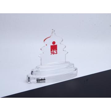 Акриловый трофей нестандартной формы