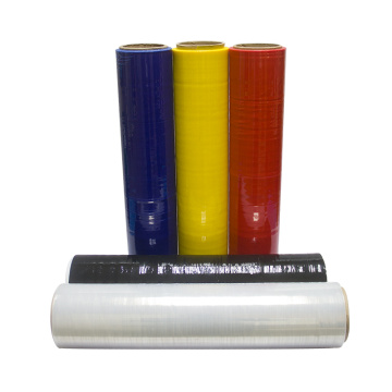 Plast Stretch Film Black Hand Pallet Shrink Wrap