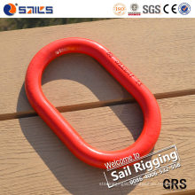 Red Alloy Chain Link Master Links