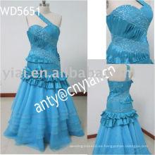 Nuevo vestido por encargo real ED5651 del baile de fin de curso de la gasa de la llegada