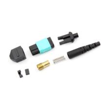 Conector redondo da fibra óptica de MPO / MTP para o mini cabo de 3mm