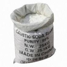 Naoh, escamas de soda cáustica, perlas, sólido 99% fábrica mínima