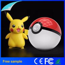 Novo 12000mAh Pokemon Go Ball II Power Bank Grande um carregador de bateria de lítio do telefone