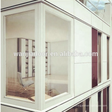 fenêtre de coin fixe en pvc Chine usine
