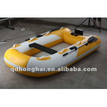 small CE HH-S250 fishing boat with air mat floor