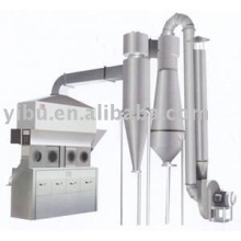 chemical Horizontal continuous fluid bed dryer