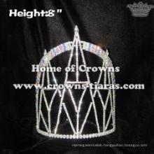 8inch Bridge Shaped Crystal Crowns
