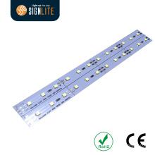 12V alumínio SMD2835 IP33 / IP66 Rígido LED Strip