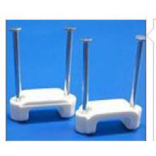 Clips de cable plano de doble clavo / Clip de clavo de acero