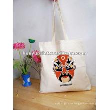 Хлопок шнурок мешок & органический хлопок tote сумка