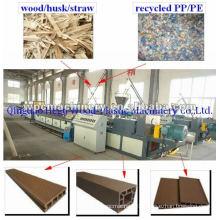 wood plastic machine-good formulation, good technology WPC machine
