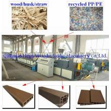 Máquina de plástico de madeira, boa formulação, boa tecnologia Máquina WPC