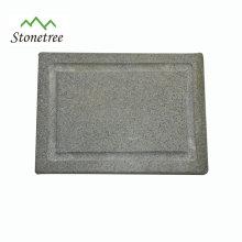 Accessoires de cuisine de jardin de barbecue Lava Stone Grill Board