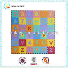 colorful EVA letters mat/toy for kids or baby