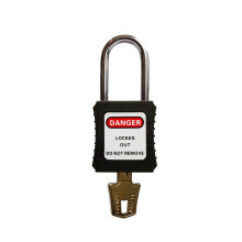High Quality 4.5mm Diameter Nylon Shackle Safety Padlocks keyed Alike