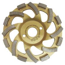 Ruedas diamantadas para rectificado de hormigón