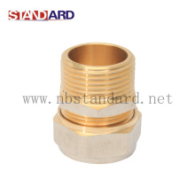 Male Thread Coupling with Nickel Plated