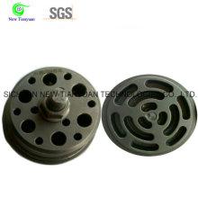 Válvula compensada de succión y descarga para compresor