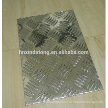 Aluminium-Riffelblech für Anhänger