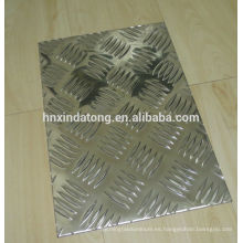 placa a cuadros de aluminio para remolque