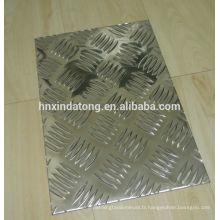 plaque à carreaux en aluminium pour remorque