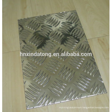 bright diamond pattern aluminium checkered plate