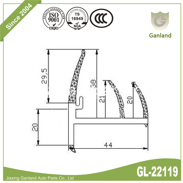 OEM Door Seal GL-22119
