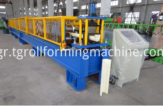 Portable Rain Seamless Gutter Machine