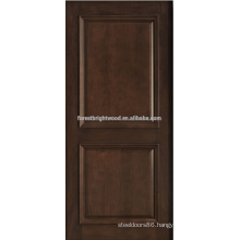 2- panel mahogany solid wood door design