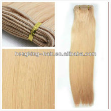 10inch-30inch white women high quality unprocessed virgin Indian blonde hair weave