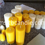beeswax candle 02