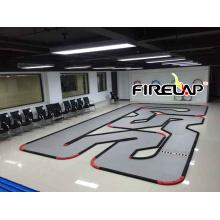 72 metros cuadrados pista de carreras de pista RC para la gran competencia