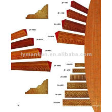 inlay design wooden mouldings for building