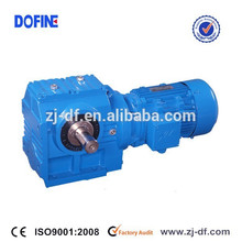 Unicase Helical Worm geared motors S series speed reducer