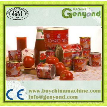 Pâte automatique de tomate d'acier inoxydable faisant la machine