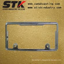 License Plate Frame (Zinc Alloy, Aluminum Alloy, ISO, SGS)