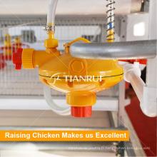 Buveur automatique de mamelon de volaille de tuyau de PVC d'usine de Qingdao