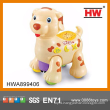 Funny plastic cartoon battery operated moving toy dog